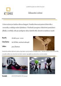 Pilates - Zdravá záda
