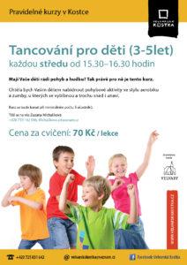 Tancování pro děti 3 - 5
