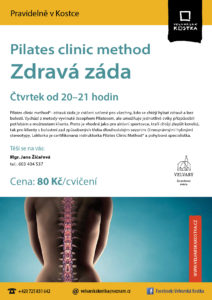 Pilates Clinic Method - zdravá záda