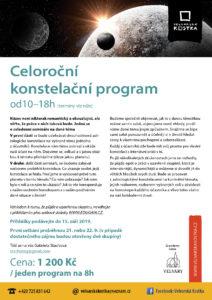 Celoroční konstelační program